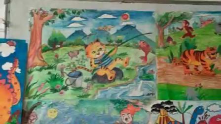 儿童画教学范画