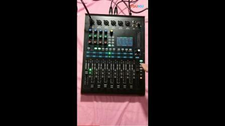 专业数字调音台V12话筒使用