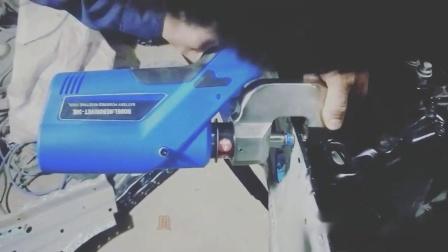 贝瑞克铝车身电动铆钉枪演示