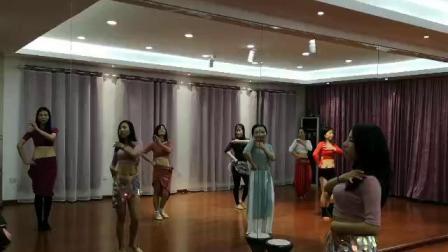 瑜美人首支集体印度舞(会员班)好看好看!