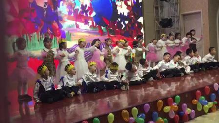 新星幼儿园2019迎新大一班合唱《金色太阳》