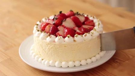 不用烤箱做美味的芝士蛋糕,自制草莓芝士蛋糕看一下!