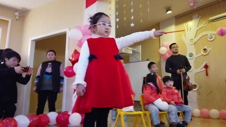 杭州转塘幼儿园中四班元旦汇演