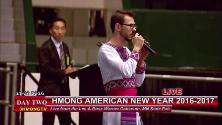 苗族歌曲3HMONG NEWS Wameng Xiong sings a song by Tou Yang at Hmong American New Year