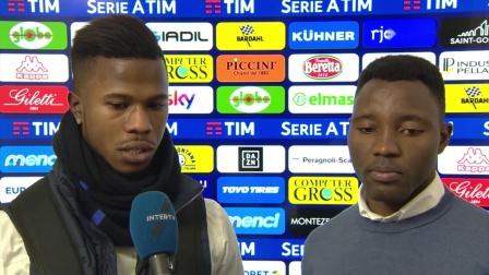EMPOLI 0-1 INTER KEITA BALDE INTERVIEW