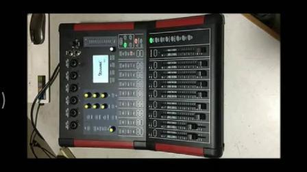 专业数字调音台-D12输入输出介绍1