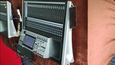 专业数字调音台T系列加效果