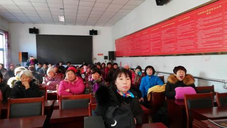 北京市密东村迎新年为村民演出独唱《妈妈的吻》