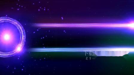 v93 超酷紫色光线光束辉光粒子动画背景视频素材ae模板  会声会影 视频背景 led舞台背景 LED视频素材 开场视频