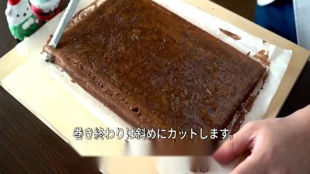 教你如何做出好吃的巧克力蛋糕卷,详细教程送给你,就怕你学不会