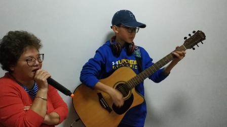 (上海滩)吉他弹唱