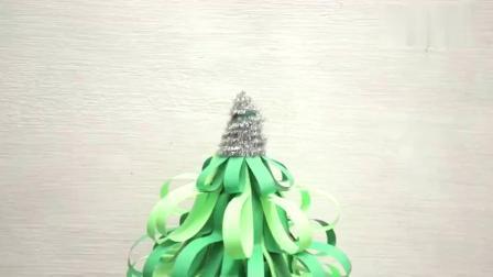 欢乐圣诞手工DIY,带孩子一起制作一棵漂亮的圣诞树吧!