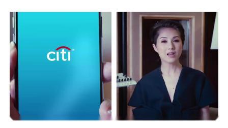 citi bank 广告with erick