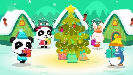 宝宝巴士启蒙音乐剧—圣诞节卡车变身成驯鹿车、姜饼人车去玩耍