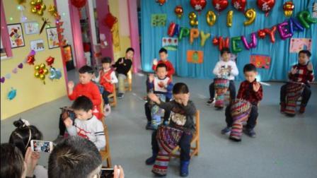 亚运村幼儿园2019大二班新年联欢会