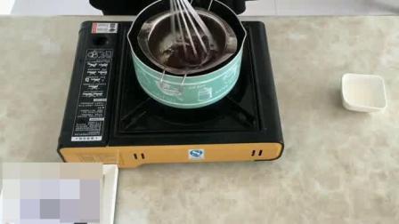 烘焙西点面包基础培训班 烤箱学做蛋糕 面包的做法