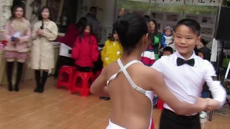 拉丁舞精彩小选手
