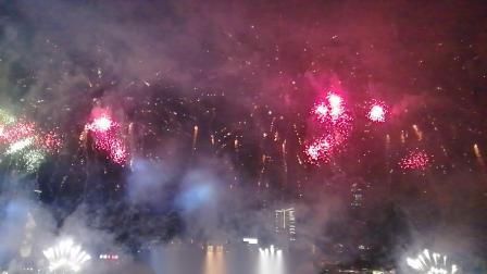 2019香港维多利亚港烟花
