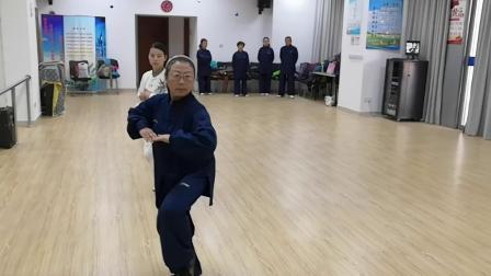 经纬太极拳表演节目排练