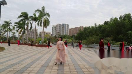 三亚凤凰时尚模特队晨练二