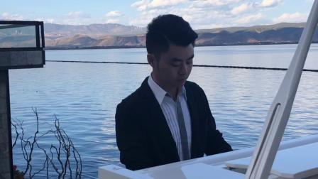 《飞走的雁》夜色钢琴曲 赵海洋 演奏视频