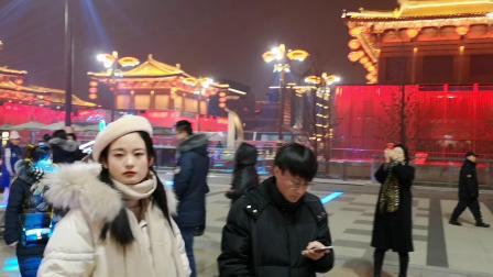 西安大唐不夜城2019元旦夜