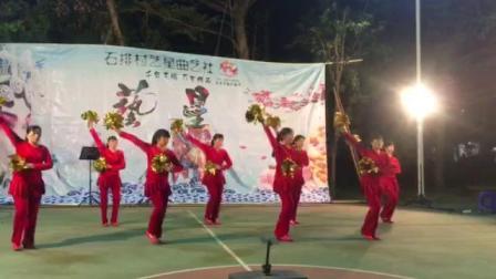 庆盛广场舞张灯结彩