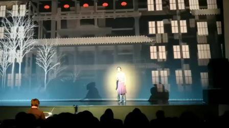 音乐剧《黄大年》,李鸿饰演黄大年夫人燕来