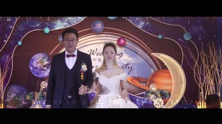 婚礼主持人刘馨《夜空中最美的星》开场白