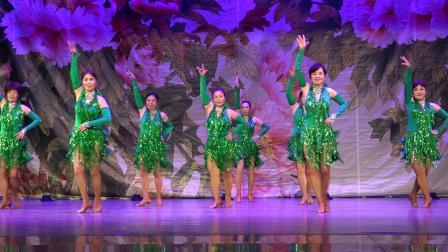 """广东省老年文化协会""""欢乐节""""优秀节目展播07 舞蹈《青春的脚步》金印团"""