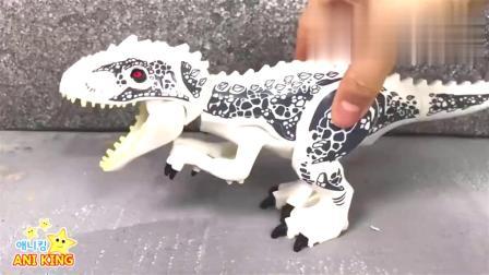 亲子启智!纠正组装错误的拼装恐龙模型