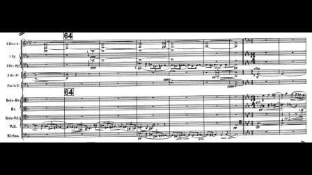 勋伯格《古雷之歌》第一部分   带乐谱