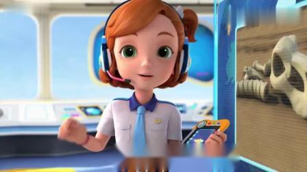 超级飞侠动画片乐迪今天将飞向加拿大给一个叫贾斯汀的小孩送包裹