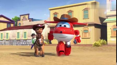 超级飞侠动画片,乐迪和保安员苏珊娜成功的帮助一个小姑娘