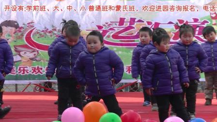 培蕾幼儿园2019年庆元旦文艺汇演