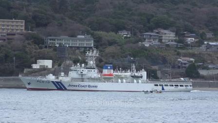 海上保安庁 巡視船だいせん 関門西航 Japan Coast Guard PLH10 DAISEN-2018
