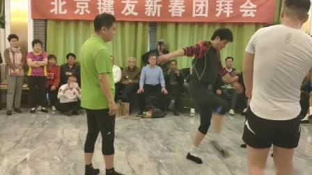 天坛钱姐雕毛毽子视频19.1.3北京毽友新春团拜会