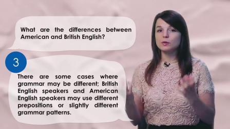 American vs British English- What's Different