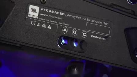 JBL VTX A8专业扬声器安装使用教程