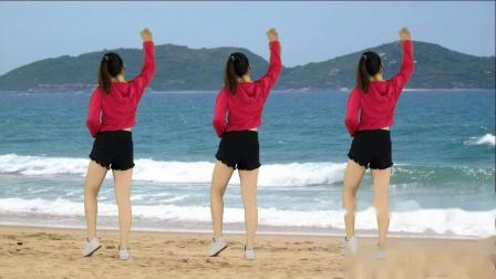 红领巾广场舞精选《踏浪》简单好看适合大众健身