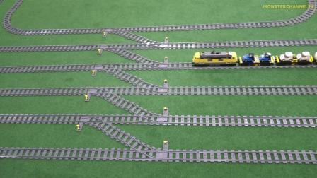 乐高火车模型发生事故 模型也要注意安全