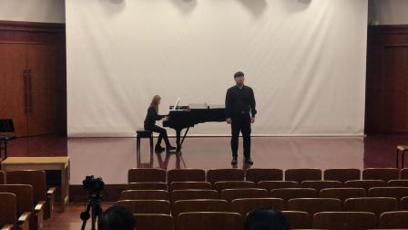 想亲娘 于凇 男高音 上海音乐学院大三上学期