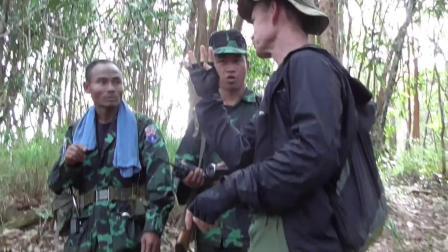 缅甸民族冲突:一群欧美人参与培训克伦\若开\克钦\掸北等地的民地武201810
