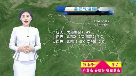 20190103 湖北卫视天气预报
