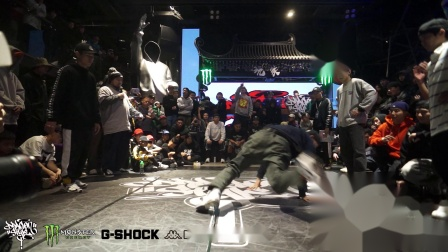 Bennyben,Physicx(win) vs 南杰,老虎-半决赛-Bboy2v2-Dragonstyle 12th Anniversary Jam