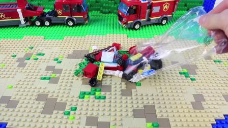 乐高60212 CITY Barbecue Burn Out Construction Toy LEGO积木砖家评测