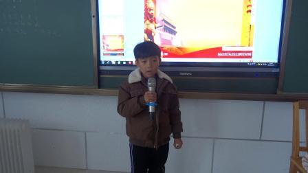 《中华人民共和国国歌》张煜阳一(3)庆云县常家镇福和希望小学2018.11.21