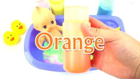 学习颜色-微波炉玩具与惊喜蛋玩具