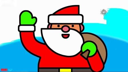 如何绘制圣诞礼品盒圣诞彩页