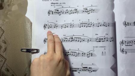《浪花一朵朵(识谱唱)》『儿童电子琴大教本』——初学者练琴辅助视频